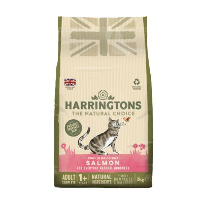 Harringtons Adult Cat Food Rich in Salmon