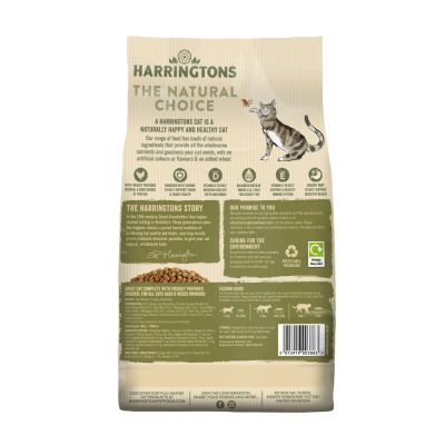 Harringtons Adult Cat Food with Fresh Chicken