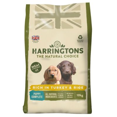 Harringtons Complete Puppy - Rich in Turkey & Rice