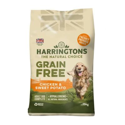 Harringtons Grain-Free Hypoallergenic - Chicken & Sweet Potato