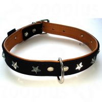 Heim Leather Dog Collar - Stars