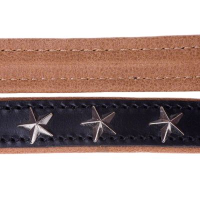 Heim Leather Dog Lead - Stars