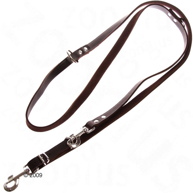 Heim Riveted Dog Lead - Brown