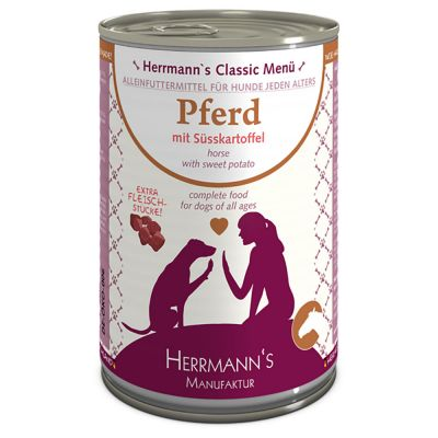 Herrmann's Menù Sensitive 6 x 400 g