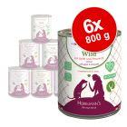 Herrmann's Menu Sans céréales 6 x 800 g pour chien
