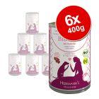 Herrmann's Menu Sans céréales 6 x 400 g pour chien
