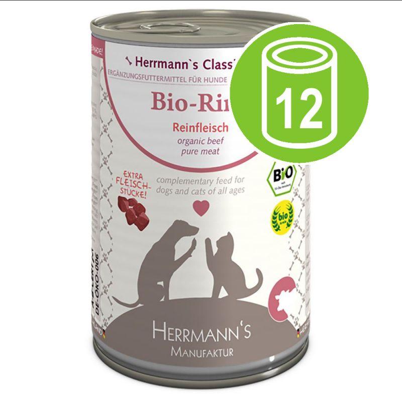 Herrmann's Organic Meat Saver Pack 12 x 400g
