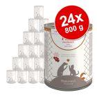 Herrmanns Pure Meat Sensitive -säästöpakkaus 24 x 400 / 800 g