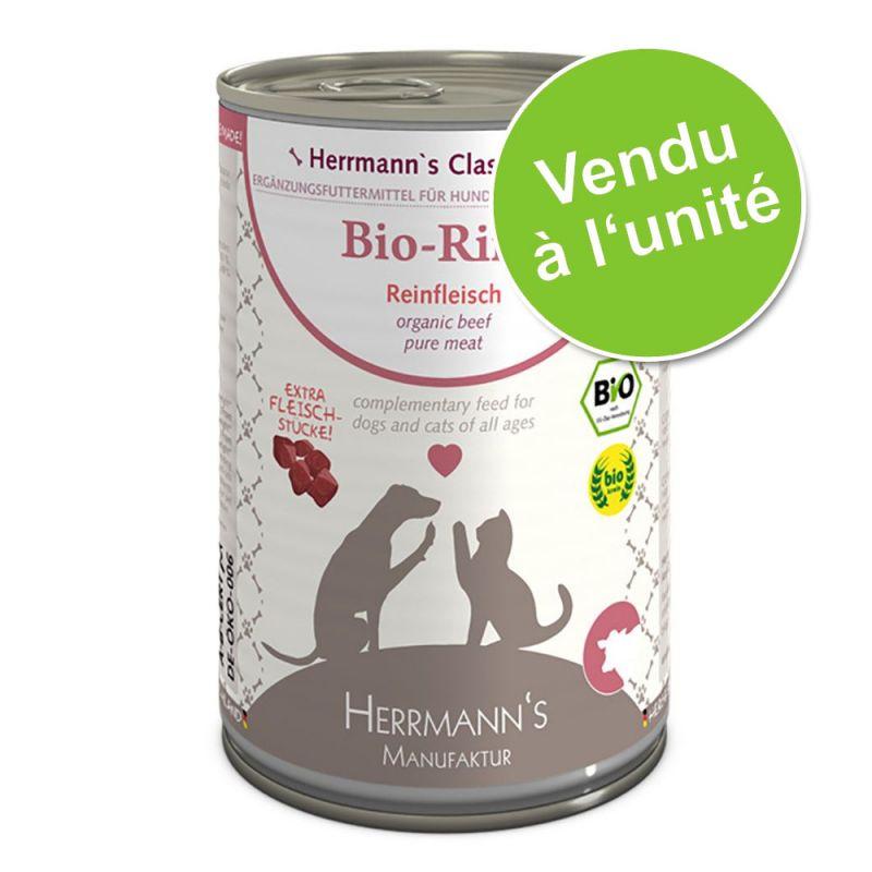Herrmann's Pure Viande 1 x 400 g pour chien et chat