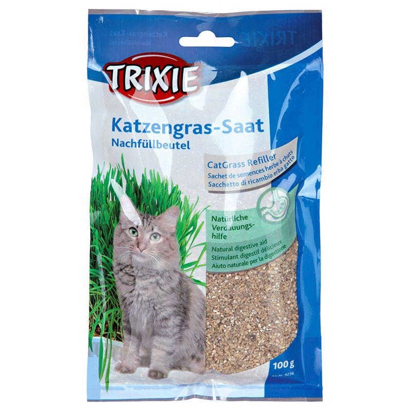 Hierba para gatos Trixie (3 x 100 g)