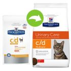 Hill's C/D Urinary Care Multicare Prescription Diet Feline