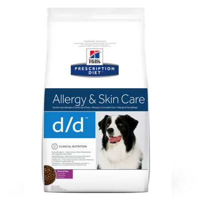 Hill's d/d con pato Prescription Diet Food Sensitivities pienso para perros