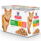 Hill's Mature Adult 7+ Senior Vitality en sobres para gatos