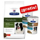 Hill's Metabolic Prescription Diet pienso + 2 latas ¡gratis!
