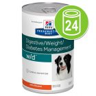 Hill´s Prescription Diet Canine 24 x 350/360/370 g
