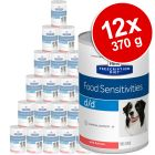 Hill's Prescription Diet Canine d/d Food Sensitivities 12 x 370 g