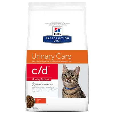 Hill's Prescription Diet c/d Urinary Stress Urinary Care poulet pour chat