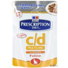 Hill's Prescription Diet Feline c/d Multicare s piletinom