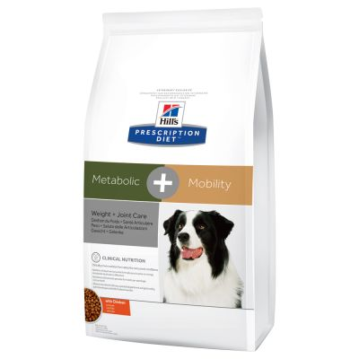 Hill's Prescription Diet Metabolic + Mobility Weight + Joint Care poulet pour chien