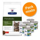 Hill's Prescription Diet Metabolic Weight Management 4 kg + 12 x 150g - Pack misto