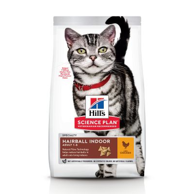 Hill's Science Plan Adult Hairball & Indoor poulet pour chat