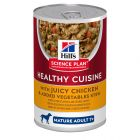 Hill's Science Plan Mature Adult 7+ Healthy Cuisine Ragout, kana & vihannekset