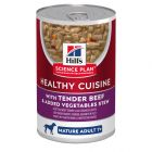 Hill's Science Plan Mature Adult 7+ Healthy Cuisine Spezzatino Manzo