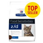 Hill's Z/D Food Sensitivities Prescription Diet Feline