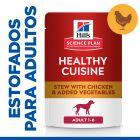 Hill's Adult Healthy Cuisine con pollo para perros