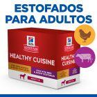Hill's Adult Healthy Cuisine con pollo y vacuno para perros