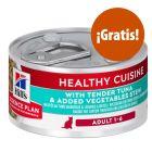Hill's Adult Healthy Cuisine estofado con atún y verduras ¡gratis!