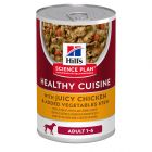 Hill's Adult 1-6 Healthy Cuisine Science Plan estofado para perros