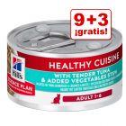 Hill's Adult Healthy Cuisine 12 x 79 g latas en oferta: 9 + 3 ¡gratis!