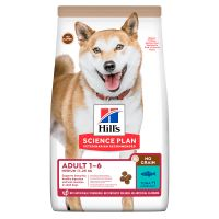 Hill's Adult 1-6 No Grain Medium Science Plan con atún