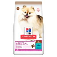 Hill's Adult 1-6 No Grain Small & Mini Science Plan con atún