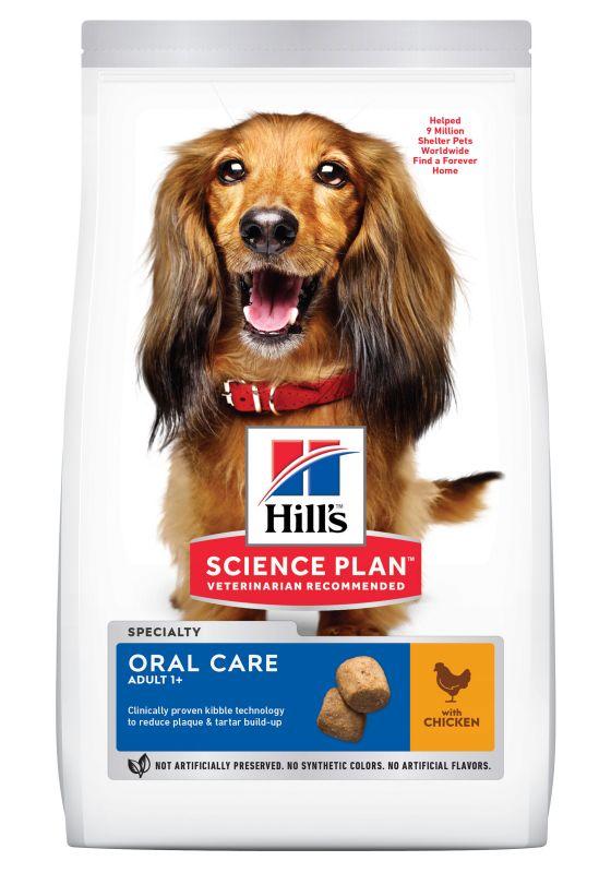 Hill's Adult 1+ Oral Care Science Plan con pollo