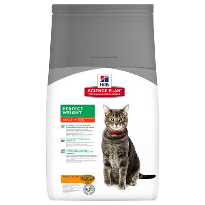 Hill's Adult Perfect Weight con pollo pienso para gatos