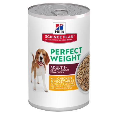 Hill's Adult 1+ Perfect Weight Science Plan latas para perros