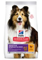Hill's Adult 1+ Sensitive Stomach & Skin Medium Science Plan con pollo