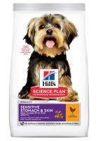 Hill's Adult 1+ Sensitive Stomach & Skin Small & Mini Science Plan pollo