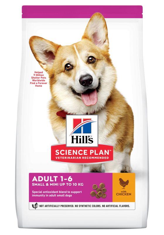 Hill's Adult 1-6 Small & Mini Science Plan con pollo