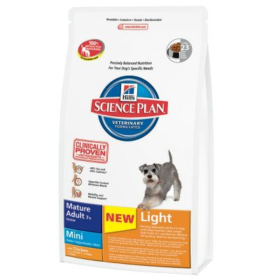 Hill's Canine Mature Adult Light 7+ Mini Chicken