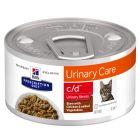 Hill's c/d Prescription Diet Urinary Stress estofado con pollo para gatos
