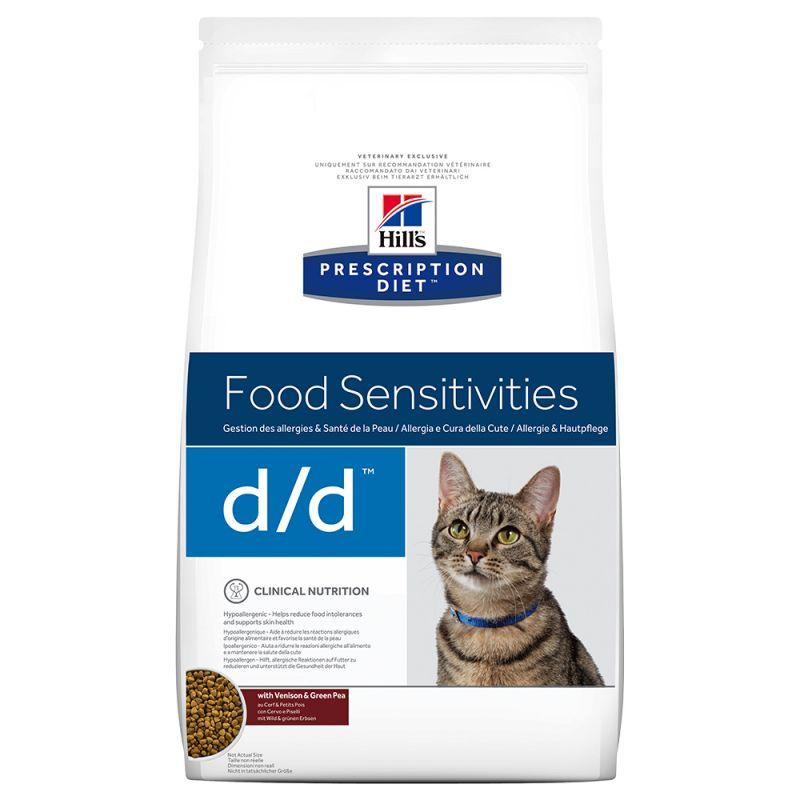 Hill's d/d Prescription Diet Food Sensitivities pienso para gatos