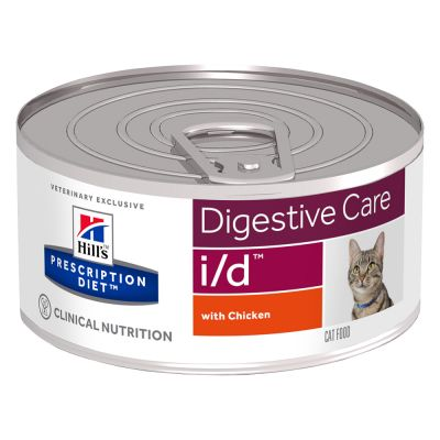 Hill's i/d Prescription Diet Digestive Care latas para gatos