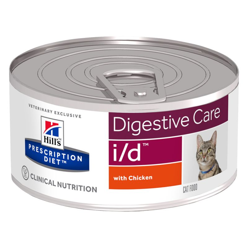 Hill's i/d Prescription Diet Digestive Care latas para gatos