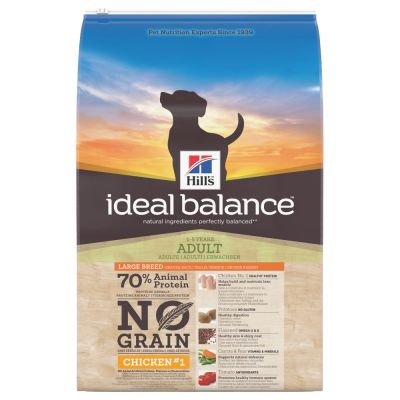 Hill's Ideal Balance Adult Large Breed No Grain poulet, pommes de terre pour chien