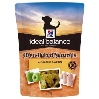 Hill's Ideal Balance con pollo y manzana snacks para perros