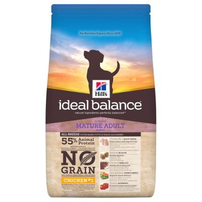 Hill's Ideal Balance Mature Adult No Grain Hundefutter mit Huhn & Kartoffel