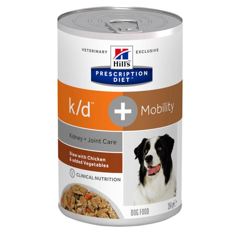 Hill's k/d + Mobility Prescription Diet estofado para perros